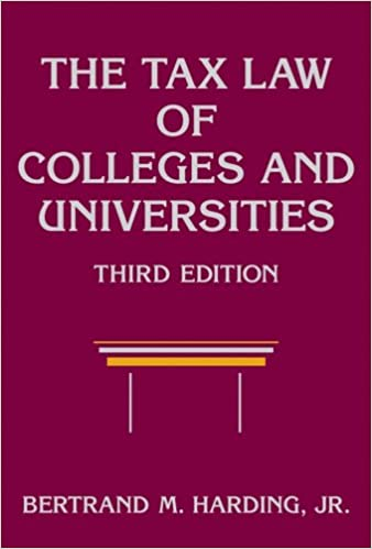 Book The Tax Law of Colleges and Universities (Wiley Nonprofit Law, Finance and Management Series)