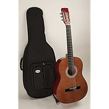 Left Handed Full Size Nylon String Classic Guitar Completely Set Up In My Shop For Perfect Play Strap Case Included