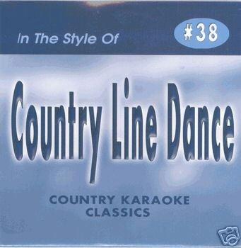 LINE DANCE Country Karaoke Classics CDG Music CD ()