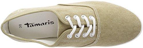 Tamaris Beige sand Femme Basses Sneakers 23609 4Rwx4T1Aq6