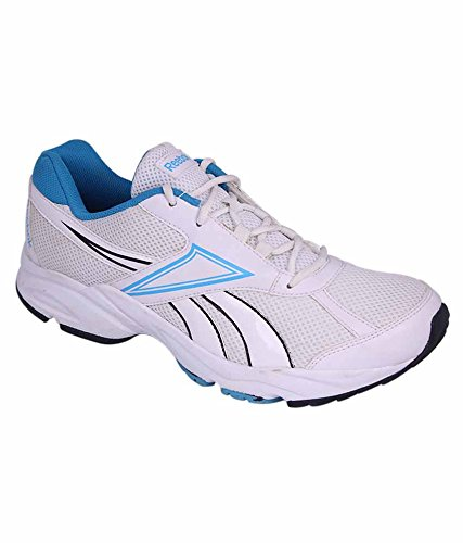 f3afe960998d15 Reebok White and Blue Colour Running Shoes for Men  Buy Online at Low  Prices in India - Amazon.in