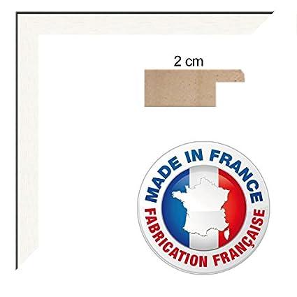 10 x 15 Cadre Blanc 2 cm de largeur Cadre photo 10x15 cadre en bois