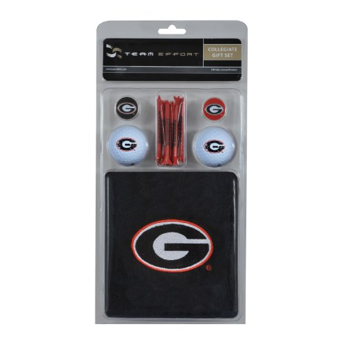 Georgia Golf Towel (Team Effort Georgia Bulldogs Gift Set)