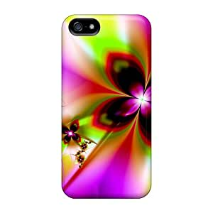 Iphone 5/5s Cover Case - Eco-friendly Packaging(flowers)