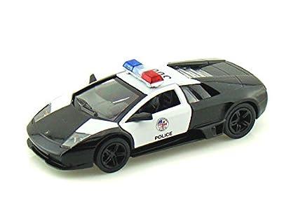 Amazon Com Kinsmart 5 Lamborghini Murcielago Lp640 4 Police1 36