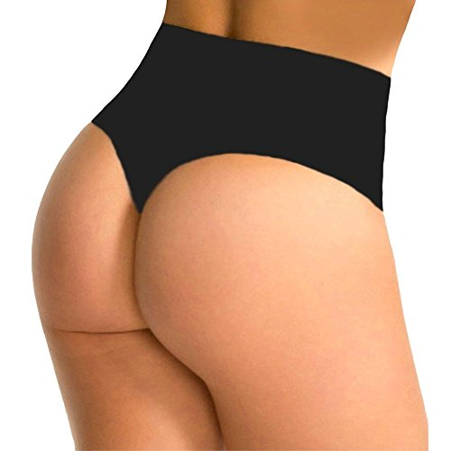 High Waist Slimming Thong - 3