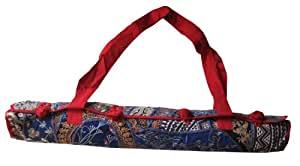 "Amazon.com: Fair Trade ""Color Splash"" Yoga Mat Bag: Cell"