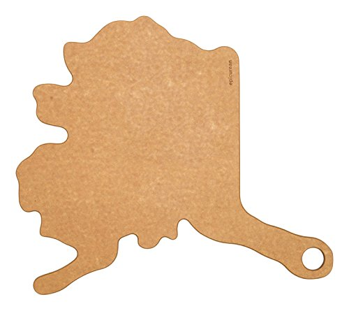 Epicurean State of Alaska Cutting and Serving Board, 16 by 1