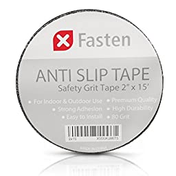 XFasten Anti Slip Tape, 2-Inch by 15-Foot Safety Track Tape