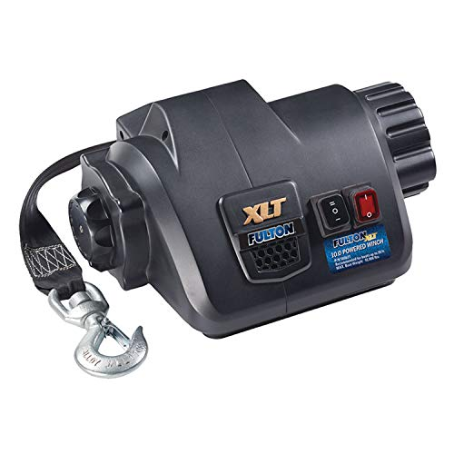 (Fulton 500621 XLT Powered Winch with Wireless Remote-10,000 lbs. Capacity)