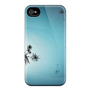 pragmatic For Ipod Touch 4 Phone Case Cover - Eco-friendly Retail Packaging(dandelion)