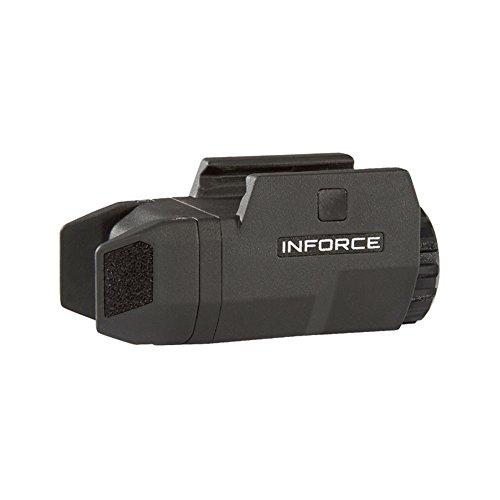 Inforce Aplc Compact Tactical Flashlight, Black
