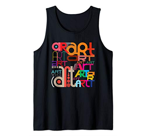 Cool Artist Art Shirt For Artsy Women And Men Tank Top
