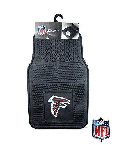 Atlanta Falcons Officially Licensed 17x27 Heavy Duty Vinyl NFL Car Mats 2 Piece Set