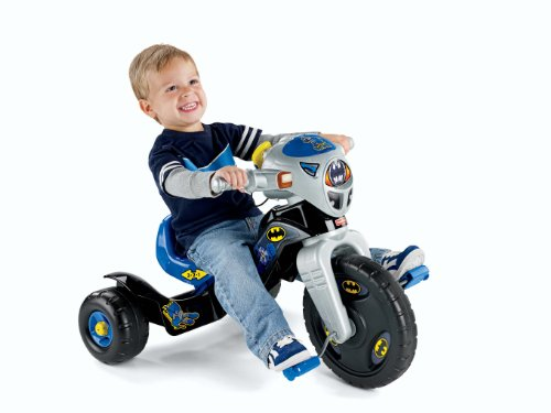 Fisher-Price DC Super Friends Batman Lights & Sounds Trike (Light Grading)