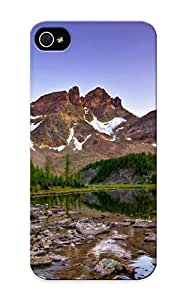 Fashion Protective Mountain Stream Case Cover Design For Iphone 5/5s