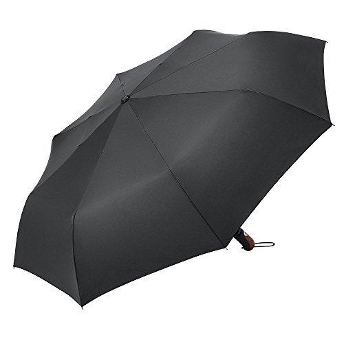 Plemo Automatic Open/Close Umbrella Wind-Waterproof, 50.5 In 8 Fiberglass Ribs
