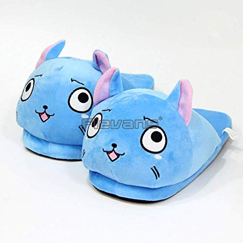 GrandToyZone DOLL SERIES - Fairy Tail Happy Plush Slippers 28cm (11 inch)