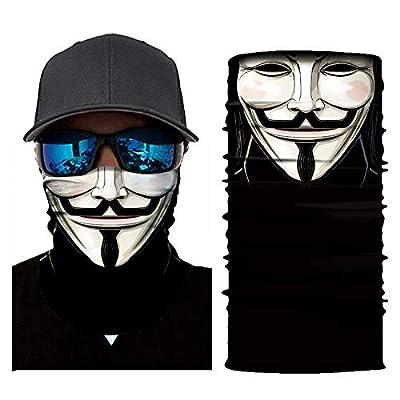 3D Outdoor Face Mask Dust-proof Windproof UV Protection Neck Shields Bandana Headwear Men&Women Motorcycling Cycling Hiking Camping Climbing Fishing: Automotive