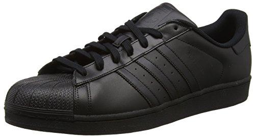 adidas Men's Superstar Baseball Shoes Black (Core Black Core Black Core Black) RB7OTuPoP0