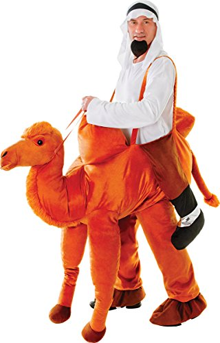 Men's Stag Night Fancy Dress Party Outfit Step In Riding Camel Costume (Riding Camel Costume)