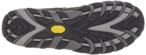 Merrell - Waterpro Maipo, Zapatos de Low Rise Senderismo Hombre Multicolor (Carbon/Empire Yellow)