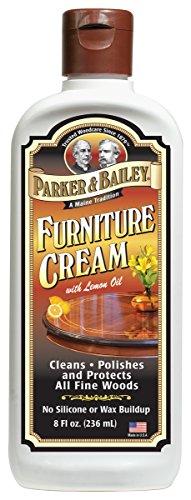 - Parker & Bailey Furniture Cream with Lemon Oil 8oz