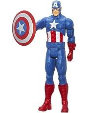 "Avengers Titan Hero Captain America 12"" Action Figure"