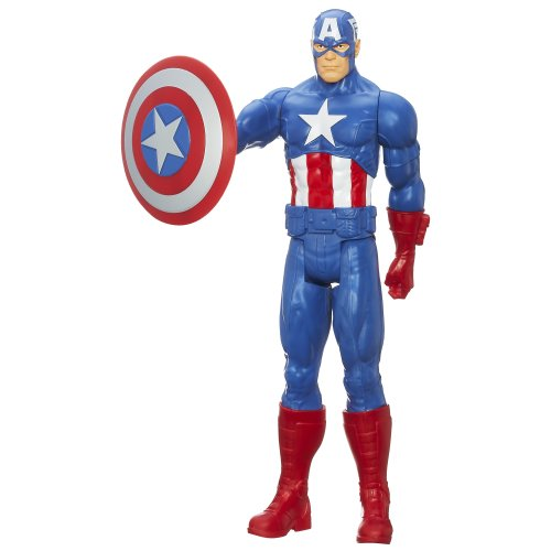 "Captain+America Products : Avengers Titan Hero Captain America 12"" Action Figure"