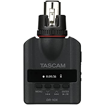 Tascam DR-10X Plug-On Linear PCM Digital Recorder for XLR Microphones