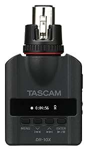 Tascam DR-10X Plug-On Linear PCM Digital Recorder for XLR Microphones