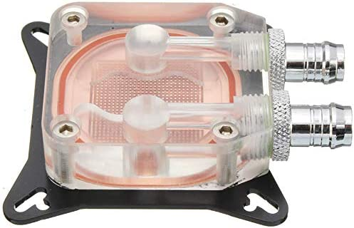 Semoic Gpu Water Block Cooling Double Channel of Copper Column Video Image Card Water Cooler Radiator 0.4Mm for W40