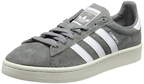 footwear Basket Adidas Campus Three White White Gris grey chalk Homme Originals Mode 4F6q8