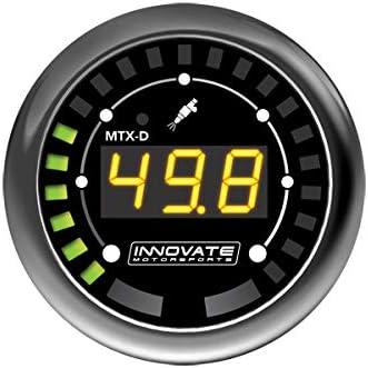 Innovate Motorsports 3917 MTX-D Fuel PressureGauge 0-145 PSI 10 BAR