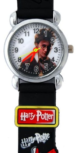 Harry Potter Watch with Black Jelly Band for Children