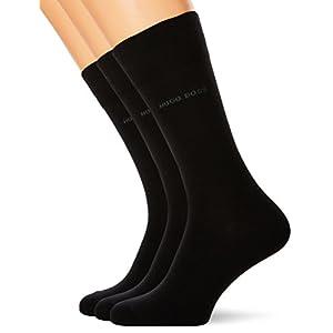 BOSS Men's Rs Uni Sp Cc Calf Socks, (Pack of 3)