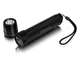 Aluratek ACEK210F PowerLight Multipurpose 10400 mAh Rechargeable Flashlight with Built-in USB Rapid Charger