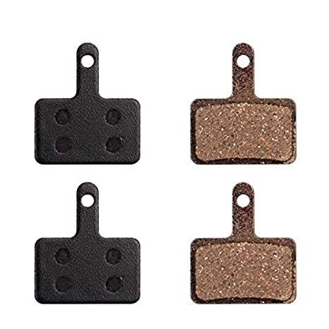 4 Pairs Bicycle Resin Disc Brake Pads For Shimano M355//M375 Draco WS//Aquila C601