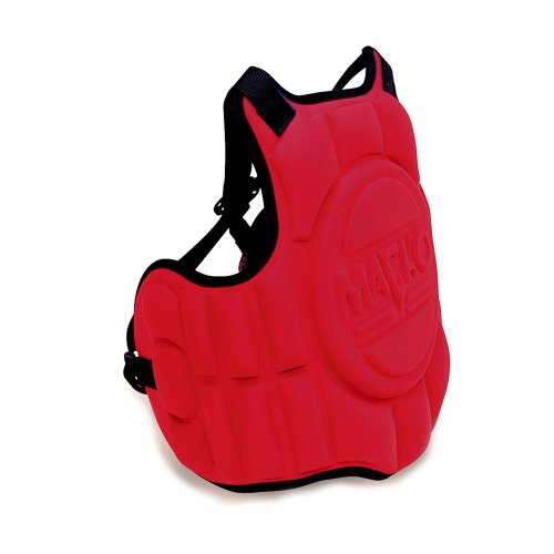 (Macho Molded Karate / Taekwondo Chest Protector - Red - Child)