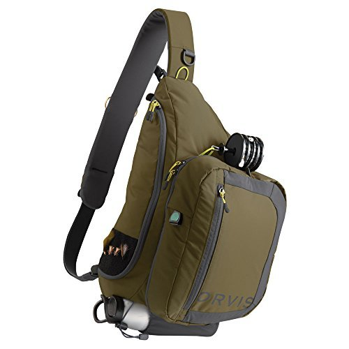 Orvis Safe Passage Guide Sling Pack Olive/Grey by Orvis