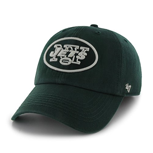 NFL New York Jets '47 Brand Franchise Fitted Hat, Dark Green, Small (Green York Jets Hat)