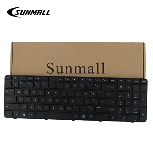 SUNMALL Replacement Keyboard with Frame for HP Pavilion G7-2000 G7-2100 G7-2200 G7-2300 G7Z-2000 G7Z-2100 G7Z-2200 G7Z-2300 G7Z-2400 (CTO) R39 Serise Black US Layout(6 Months Warranty)