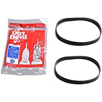 Dirt Devil Royal Style 12 Genuine Vacuum Belts Platinum Force Ultra Vision Turbo 2PK # 1LC0011600, 3910355001 3-910355-001