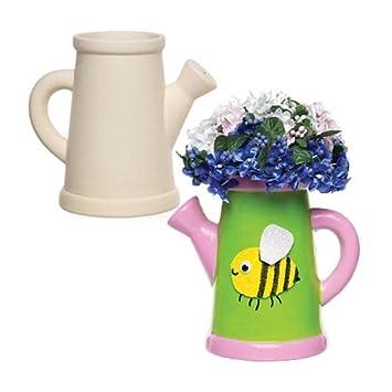 Keramik Blumentopfe Giesskanne Fur Kinder Zum Gestalten Bemalen