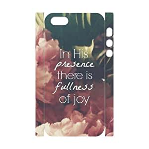Cool Painting Quotes Brand New 3D Cover Case for Iphone 5,5S,diy case cover case530054
