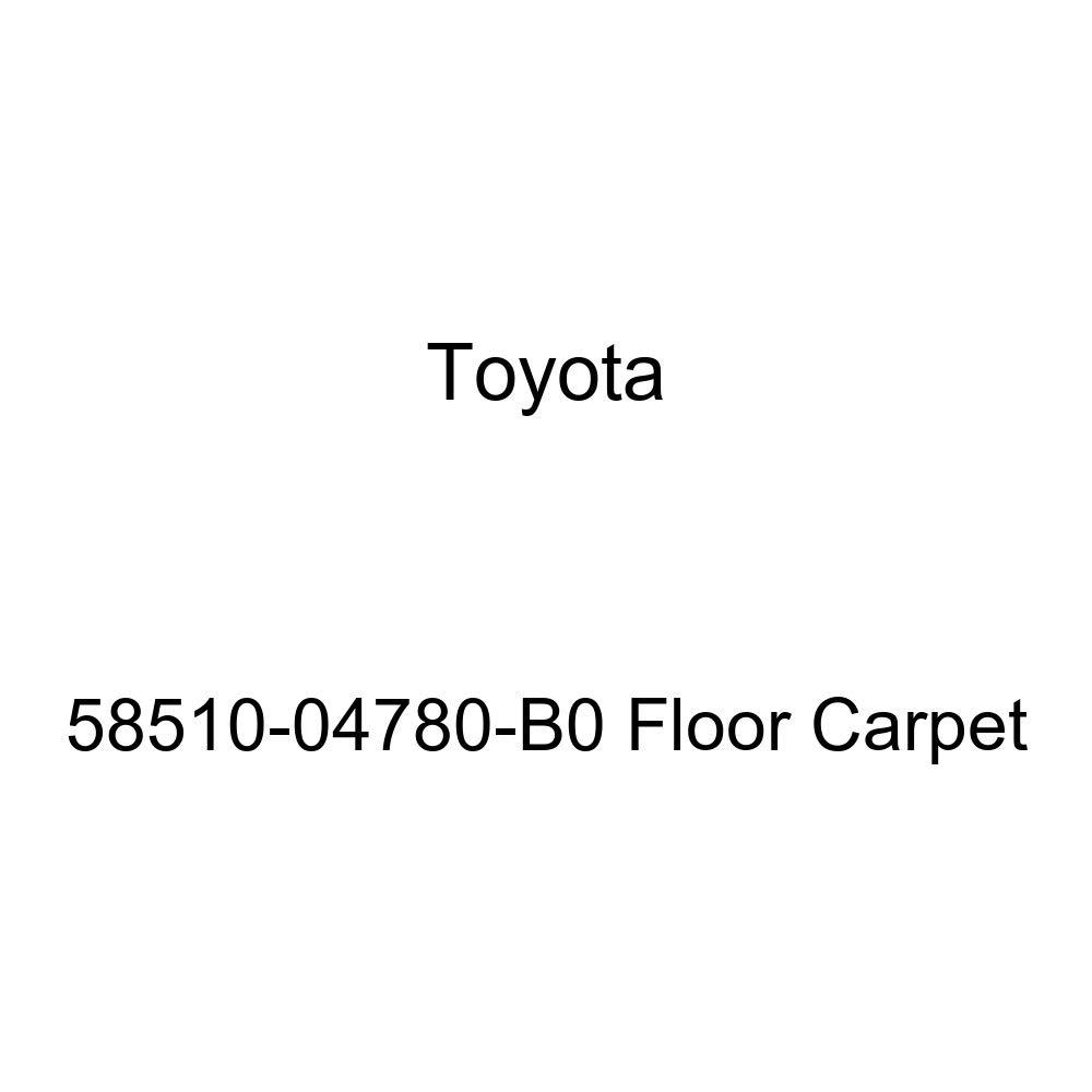 TOYOTA Genuine 58510-04780-B0 Floor Carpet