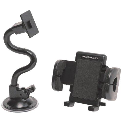 Scosche IUHW5F Grip-IT Windshield Mount Kit - Retail Packaging - (Scosche Grip)