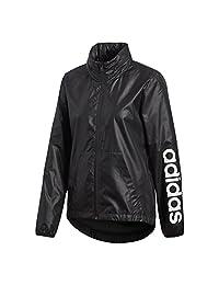 Adidas Women's Linear Windbreaker Jacket