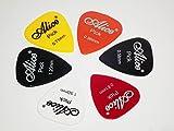 amiciKart® Multi Colored Plectrum Guitar Picks set of 6