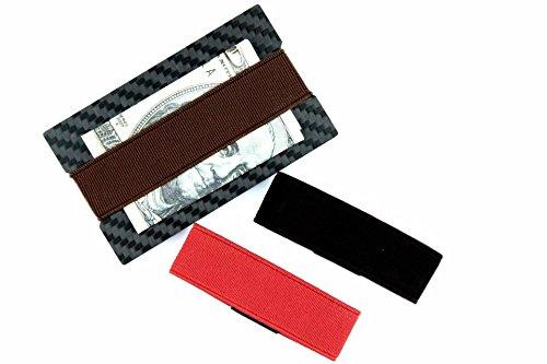 CL Carbonlife(TM) Carbon Fiber Money Clip Credit Card Holder Slim Wallet Bottle Opener Square